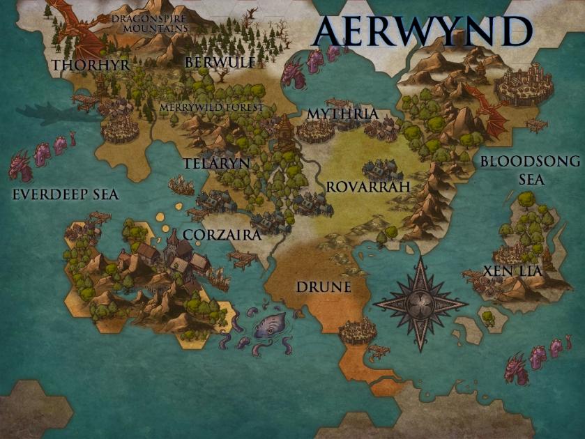 Aerwynd Map 2